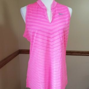 Nike Golf Dri-Fit Sleeveless Golf Polo Women's